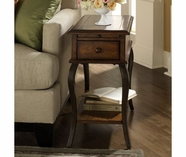 Riverside 72011 Serena-Chairside Table-Wood Top-Brown Sugar