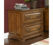 Riverside 8939 Seville Square-2 Drawer Lateral File-Warm Oak
