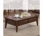 Riverside 92002 Hilborne-Cocktail Table-Burnished Cherry