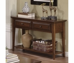 Riverside 92015 Hilborne-Sofa Table-Burnished Cherry