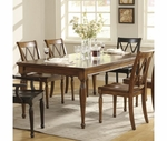 Riverside Delcastle Rectangular Dining Table Set 41020-23X4