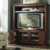 Riverside Visions III 64 Inch TV Console & Deck Bordeaux Cherry 34157-8