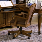 Samuel Lawrence 1641-925 MONACO DARK Desk Chair