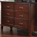 Samuel Lawrence 2225-410 Bridgeport 6 drawers Dresser