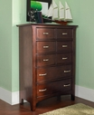Samuel Lawrence 2225-440 Bridgeport 5 drawers Drawer Chest