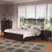 Samuel Lawrence 2445-252-259-400 NOVA QUEEN Complete 252/259 Bed w/Rails