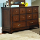 Samuel Lawrence 8124-410 Pepper Creek Drawer Dresser