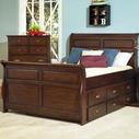 Samuel Lawrence 8124-737-738-404-801 Pepper Creek Full Storage Sleigh Bed