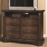 Samuel Lawrence 8264-160 MONTICELLO Entertainment Console