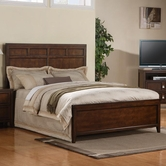 Samuel Lawrence 8280-250-251-400 BAYFIELD QUEEN Complete Bed w/400 Rails 5/0
