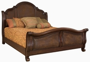 Samuel Lawrence 8308-272-273-508 HUNTINGDON C King Complete 272/273Bed w/ 508 Rails