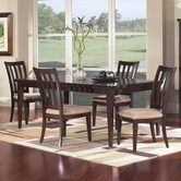 Samuel Lawrence nova 2445-135-4X154 Table and Chair Set