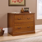 Sauder 101702 Camden County Lateral File in Planked Cherry Finish