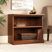 Sauder 101782 Camden County 2-Shelf Bookcase In Planked Cherry Finish