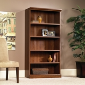 Sauder 101785 Camden County Library in Planked Cherry Finish