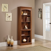 Sauder 101795 Camden County Library in Planked Cherry Finish