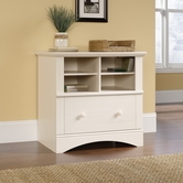 Sauder 158002 Harbor View Lateral File in Antiqued White Finish