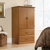 Sauder 401292 Orchard Hills Armoire in Carolina Oak Finish