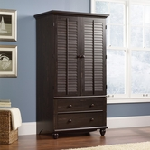 Sauder 401322 Harbor View Armoire in Antiqued Paint Finish A2