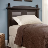 Sauder 401325 Harbor View Twin Headboard in Antiqued Paint Finish