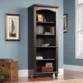 Sauder 401633 Harbor View Library In Antiqued Paint Finish