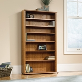 Sauder 401739 Orchard Hills Multimedia Storage Tower in Carolina Oak Finish