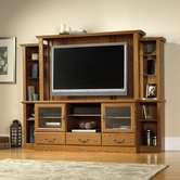 Sauder 402743 Orchard Hills Home Theater in Carolina Oak Finish A2