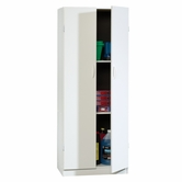 Sauder 407468 Beginnings Storage Cabinet in Soft White Finish
