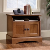 Sauder 407803 Graham Hill Utility Stand in Autumn Maple Finish