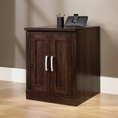 Sauder 408365 Office Port Library Base in Dark Alder Finish