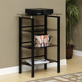 Sauder 408388 Lake Point Technology Pier Black/Black