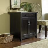 Sauder 408696 Edge Water Utility Cart/Stand in Estate Black Finish
