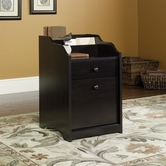 Sauder 408699 Edge Water File Cabinet in Estate Black Finish