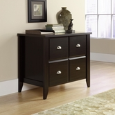 Sauder 408924 Shoal Creek Lateral File in Jamocha Wood Finish