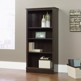 Sauder 408967 Bookcase in Cinnamon Cherry Finish
