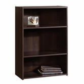Sauder 409086 Beginnings 3-Shelf Bookcase In Cinnamon Cherry Finish