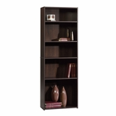 Sauder 409090 Beginnings 5-Shelf Bookcase in Cinnamon Cherry Finish