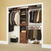 Sauder 409802 Closet in A Box - Narrow in Coach Cherry Finish