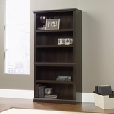 Sauder 410174 Bookcase in Cinnamon Cherry Finish