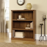 Sauder 410372 3 Shelf Bookcase in Oiled Oak Finish