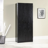 Sauder 410814 Storage Cabinet in Ebony Ash Finish