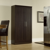 Sauder 411572 Homeplus Storage Cabinet in Dakota Oak Finish