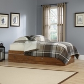Sauder 411899 Shoal Creek Mates Bed in Oiled Oak Finish