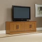 Sauder 411955 Homeplus Tv/Wall Cabinet in Sienna Oak Finish
