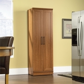 Sauder 411963 Homeplus Storage Cabinet In Sienna Oak Finish