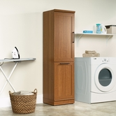 Sauder 411975 Homeplus Storage Cabinet in Sienna Oak Finish