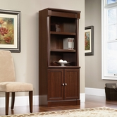 Sauder 412019 Palladia Library W/Doors in Select Cherry Finish