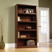 Sauder 412835 5 Shelf Bookcase In Select Cherry Finish