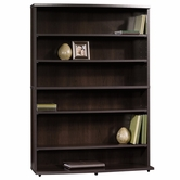 Sauder 413034 Beginnings Multimedia Storage Tower in Cinnamon Cherry Finish