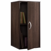 Sauder 413036 Beginnings Cube With Door In Cinnamon Cherry Finish